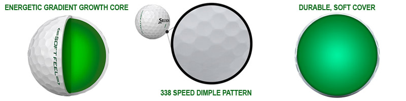 balles srixon soft feel