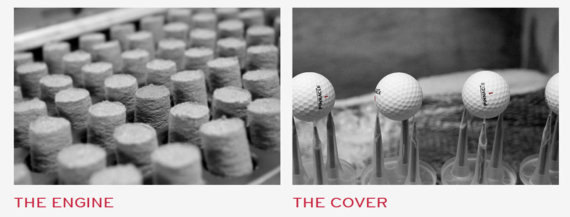 balles de golf pinnacle rush