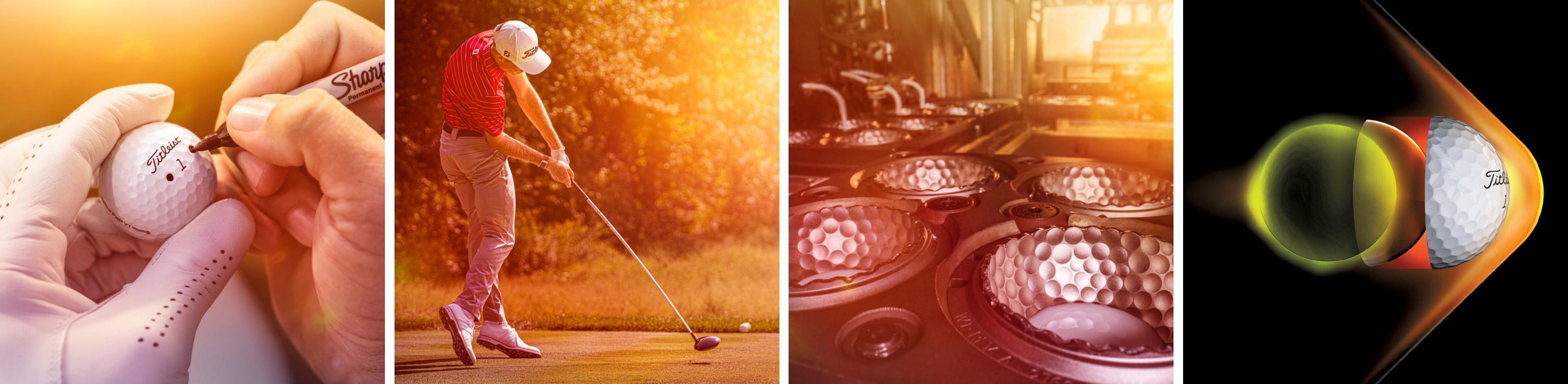 Balle de golf Pro V1 Titleist 2021