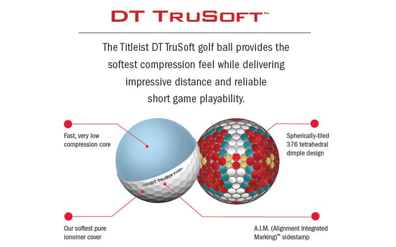 Balles de golf DT TruSoft