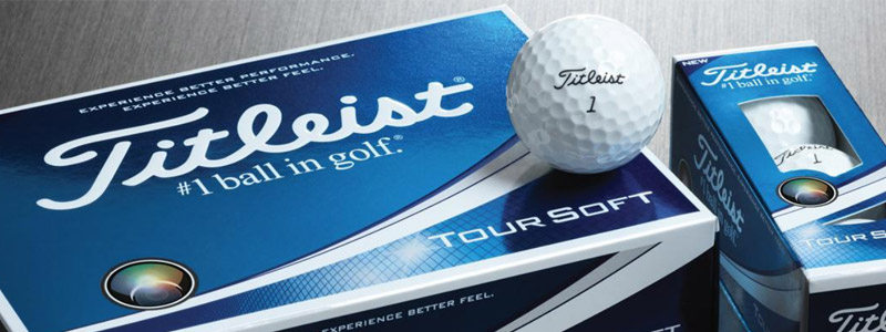 balles de golf tour soft titleist