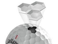 12 Balles de golf Hex chrome+
