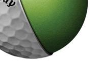Balles de golf Hex solaire lady