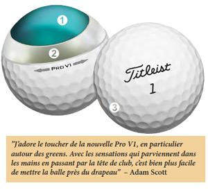 balles de golf Pro v1 2013 titleist