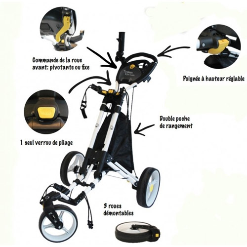 chariot manuel trolem rotamatic