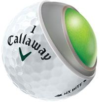 balles de golf callaway HX bite