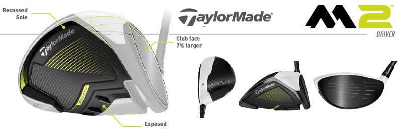 driver taylormade 2017 m2