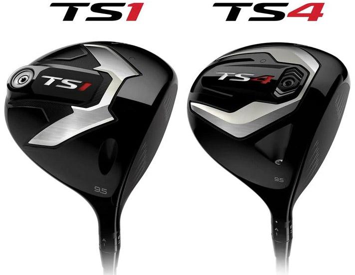 TS1-TS4 titleist driver golf