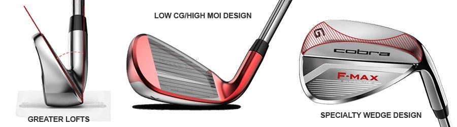 fers de golf Fmax SL Cobra