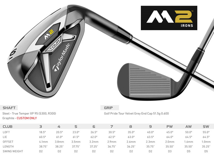 fers m2 tour taylormade