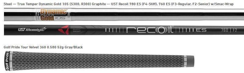 fers P790 Shaft option