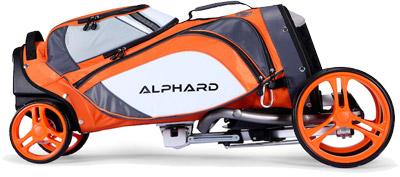 Chariot Alphard duo cart lite