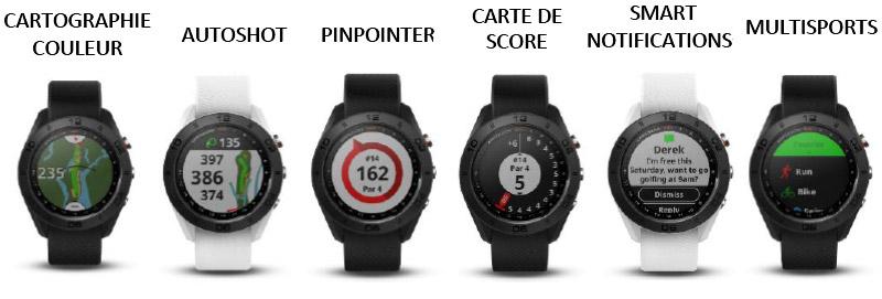 Montre GPS S60 Garmin