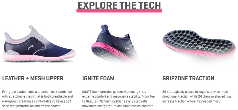 Chaussure femme Ignite Spikeless Sport 2017