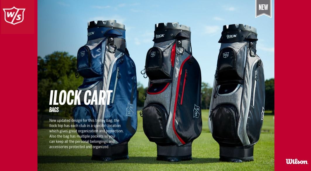sac chariot i lock wilson golf 2020