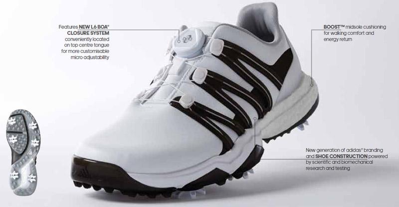 chaussures de golf adidas powerband boa boost