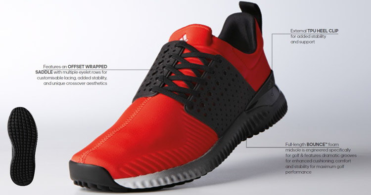 Chaussure homme Adicross Textile Adidas 2018