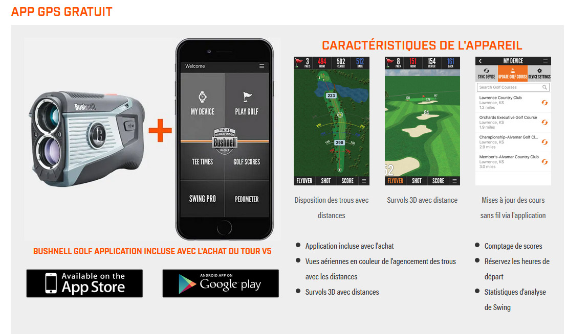 tour v5 bushnell