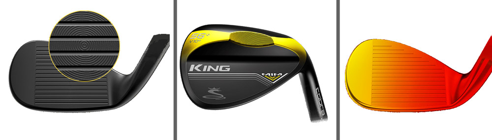 wedges cobra king mim black description