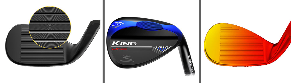 wedge cobra king mim one length black