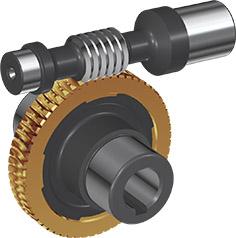 réducteur roue et vis TNRV040