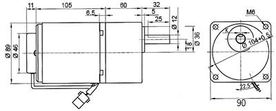 moto-réducteur 40W