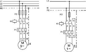Shema de câbage boitier demarrage moteur DOL18
