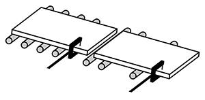 Schéma d'une cellule fourche F5