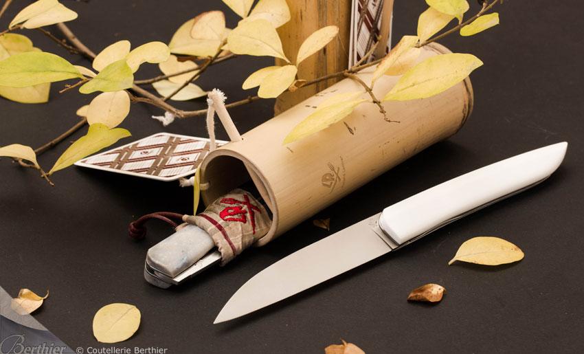 Couteau de poche WHY SO SERIOUS - couteau LANNIER - couteau berthier.com