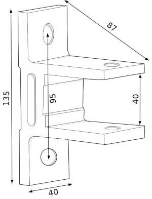 fixation façade store monobloc bon plan
