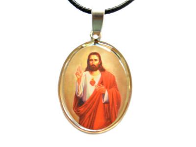 médaille jésus coeur sacre