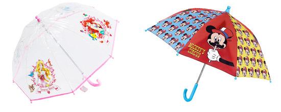 Parapluie enfant Disney pour fille et garcon