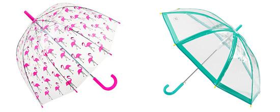 parapluie transparent pour enfant fille et garcon