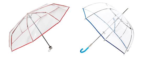 parapluie transparent pour femme