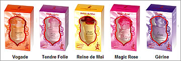 Pack 5 Parfums Charrier 'Collection de France'