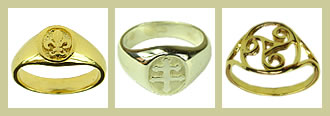 French Rings and Signet Rings