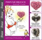 broche à parfum pour soutien gorge
