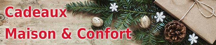 Cadeaux de Noel confort et maison