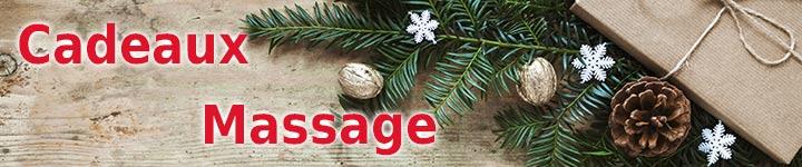 Cadeaux de Noel massage